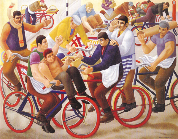 William Roberts, Bicycle Boys, 1939
