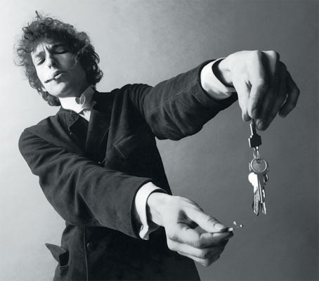 Bob Dylan Smoking Weed