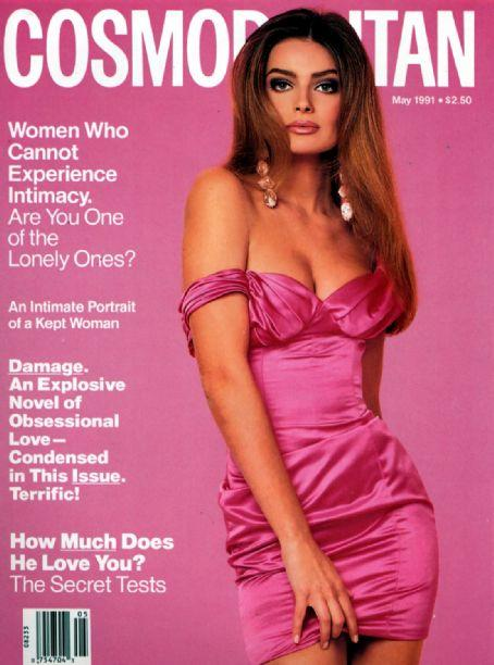 Cosmopolitan USA cover with Paulina Porizkova - May 1991