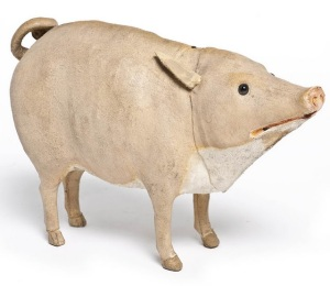 Pig, France, late 19th century