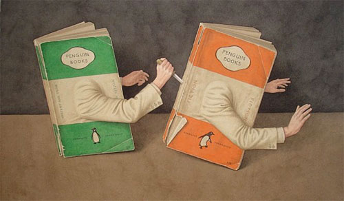 Murderous penguin books