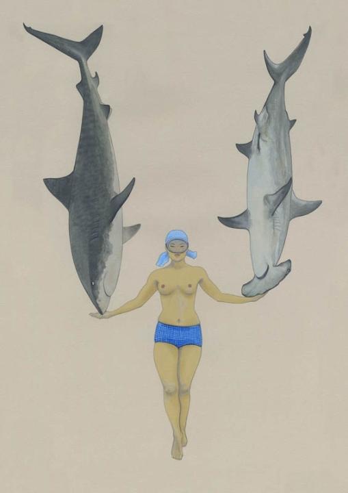 The Shark Charmer by Kozyndan