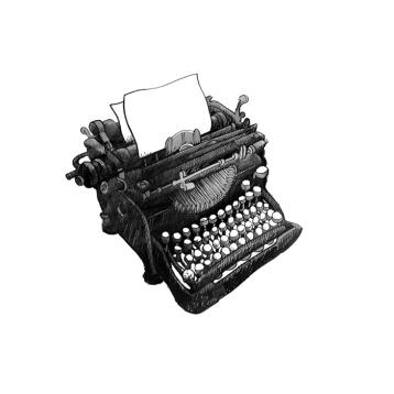 Typewriter by Elliot Elam