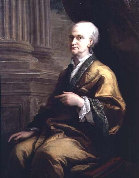 Portrait of Sir Issac Newton 1642-1727 (1710c) by Sir James Thornhill