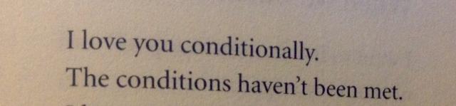 conditionally